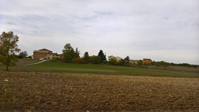 The Hameau Les Reys, near Roussillon, in Luberon.