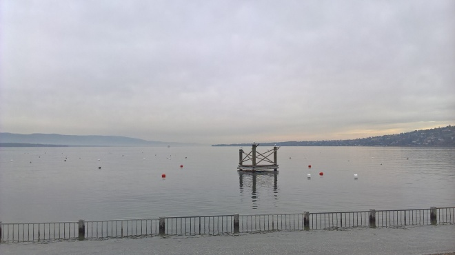 Lac Leman on a typical November day...