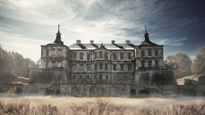Pidhirtsi Castle in Ukraine, from Strange Abandoned Places.
