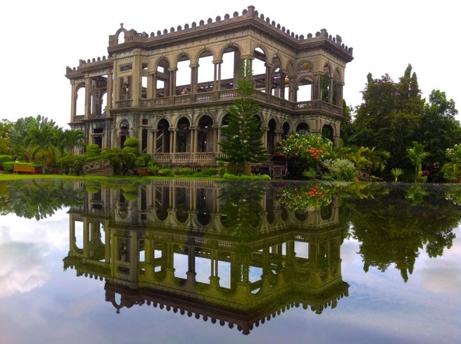 Beautifully integrated in the landscape: the Talisay Mansion in the Philippines, from Matador Network,