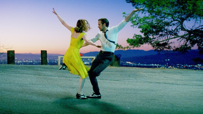 Scene from Lala Land, from Indiewire.