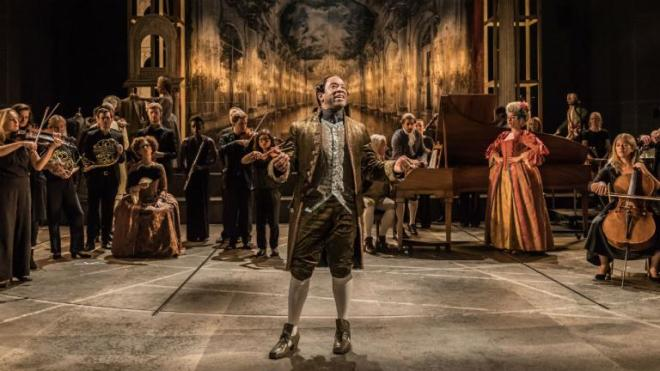 Scene from Amadeus, National Theatre.