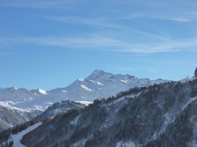 Mont Blanc is a stunner from all angles.