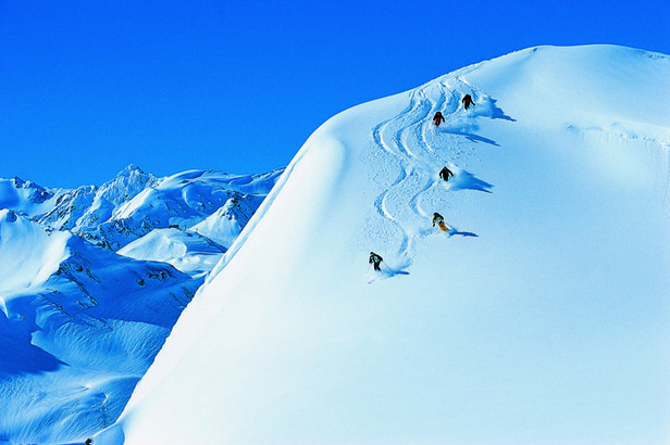 This is my idea of heavenly powder... from OnTheSnow.com
