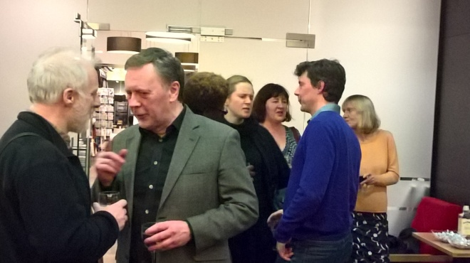 How many writers can you spot in one picture: Quentin Bates, Barry Forshaw, Daniel Pembrey...