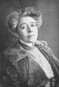 Ricarda Huch, around 1914.